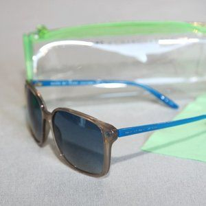 Marc Jacobs sunglasses gray blue unisex with case
